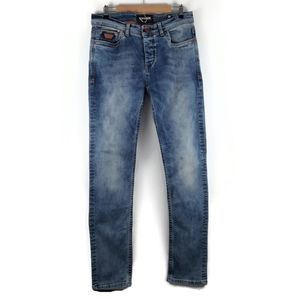 WAM DENIM Straight Leg Jeans Made in Italy Size 36